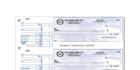 Manual Business Cheques Printing