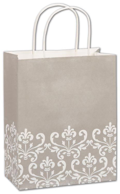 Retail paper bags and tissue