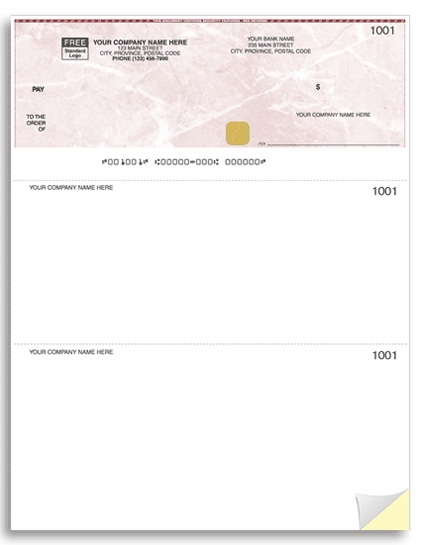 WSS9209 - Laser Top Cheques, High Security