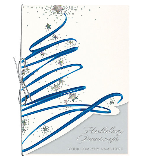 These elegant cards allow you to personalize with your company name printed on the front.