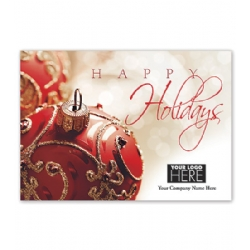 Holiday Cards- Holiday Bliss Logo Card