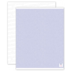 Blue Blank Security Paper