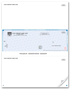 Laser Middle Cheques, Premium Security