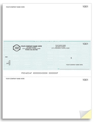 Laser Middle Cheques