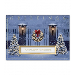 Holiday Thank you Cards- Gated Glow