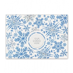 Holiday Logo Card- Dazzle and Shine
