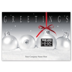 MT14018, Frosty Display Holiday Logo Cards