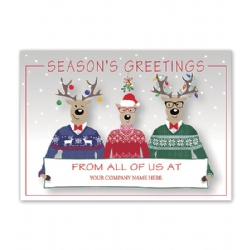 Holiday Cards- Happy Sweater Crew