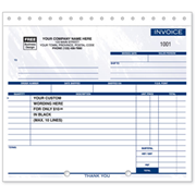 Compact Carbonless Invoices