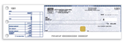 One-to-a-page customized cheque