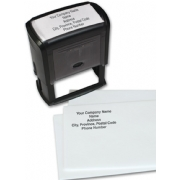 Press 'N Print Stamp, Large, Black