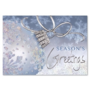 Blue Jewelled Holiday Cards