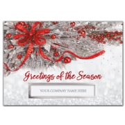 Silver Frost Holiday Cards