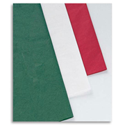 Holiday Tissue Paper - Red, Green, White