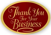 Holiday Envelope Seals - Thank You For Your Business