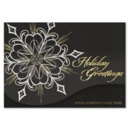Midnight Luster Holiday Cards