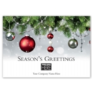 MT15007, Fire & Ice Holiday Logo Cards