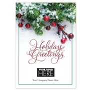 MT15014, Berry Sprig Holiday Logo Cards